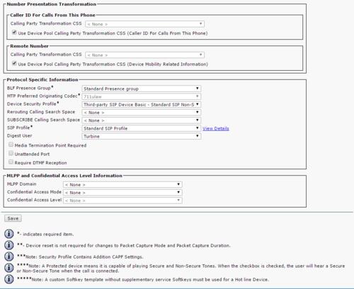 Cisco Call Manager 10 configuration - Zenitel Wiki